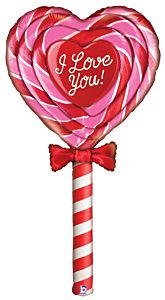 5' Mighty Special Delivery Love Lollipop