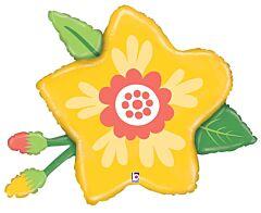 "34"" Yellow Flower"