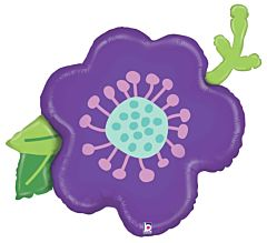 """39"""" Purple Flower"""