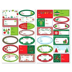 Holiday Adhesive Label