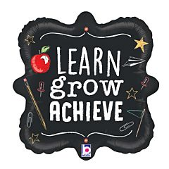 "18"" Learn Grow Achieve"