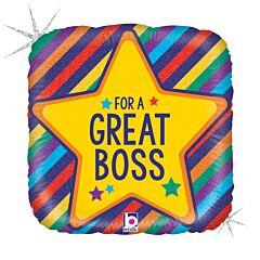 "18"" Great Boss"
