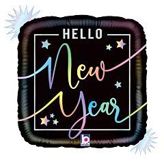 "18"" Opal Hello New Year"