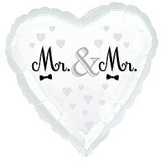 "18"" Mr And Mr Wedding"