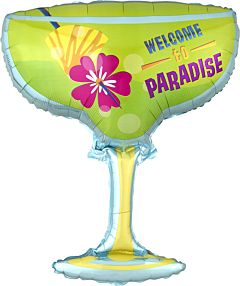 "28"" Welcome to Paradise"