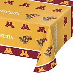 "54X108"" Plastic Table Cover - Minnesota"