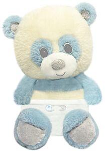 "7"" Sitting Blue Panda Bear"