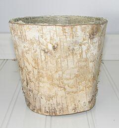 """4.25"""" Birch Basket - Natural"""