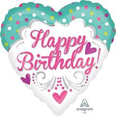 "28"" Jmb Hx Princess Birthday"