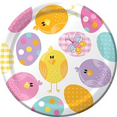 "Easter Picnic - 7"" Plate 8CT"