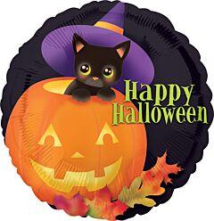 """18"""" Halloween Kitten"""