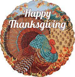"18"" Happy Thanksgiving Turkey"