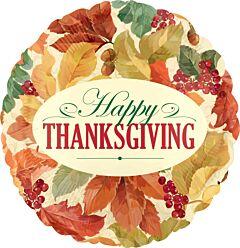 "18"" Thanksgiving Leaves"