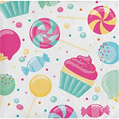 Candy Bouquet - Beverage Napkin 16ct
