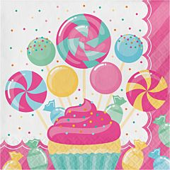 Candy Bouquet - Lunch Napkin 16ct
