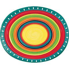 "Stoneware - 10"" Paper Platter 8Ct"