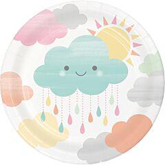 "Sunshine Baby - 7"" Paper Plate 8Ct"