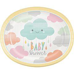 "Sunshine Baby - 10"" Paper Platter 8Ct"