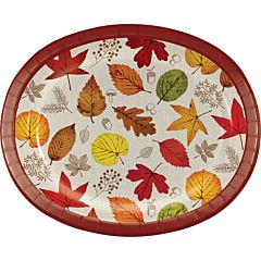 Happy Harvest - Oval Platter 8Ct