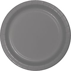"7"" Paper Plate - Glamour Gray"