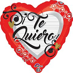 "17"" Te Quiero Swirls"