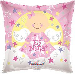 "18"" Angel Sobre Nubes Es Nina"