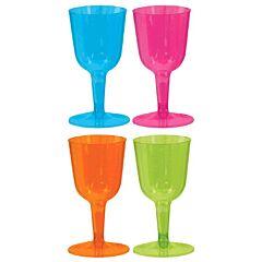 10 oz Wine Glass - Neon