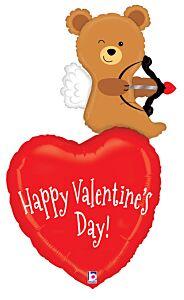 "44"" Cupid Bear Valentine"