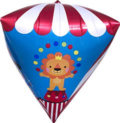 """17"""" Carnival Birthday Diamondz"""