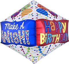 "21"" Happy Birthday Make a Wish Anglez"
