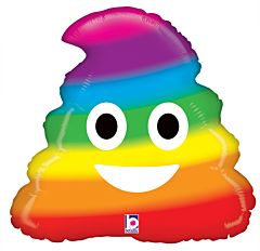 "20"" Emoji Rainbow Poo"