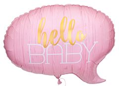 """24"""" Hello Baby Pink"""