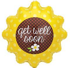 """29"""" Get Well Sunflower"""