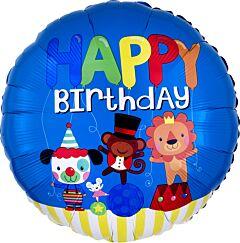 "17"" Happy Birthday Circus Fun"