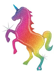 "54"" Rainbow Unicorn Holographic"