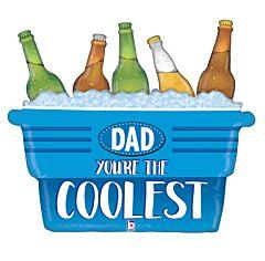 "33"" Coolest Dad Cooler"