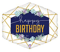 """30"""" Geo Navy Birthday"""