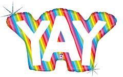 "34"" Rainbow Yay Holographic"