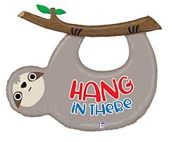 """42"""" Hang In There Sloth"""
