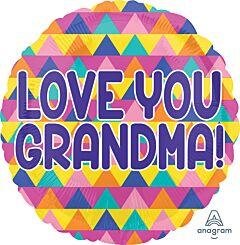"17"" Grandma Triangle Pattern"