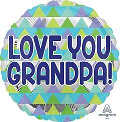 "17"" Grandpa Triangle Pattern"