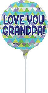 "9"" Love You Grandpa"
