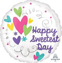 """17"""" Sweetest Day Heart Swirl"""