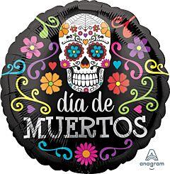 "17"" Colorful Dia De Muertos"