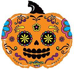 """28"""" Mighty Pumpkin Skull"""