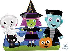 "32"" Halloween Friends"