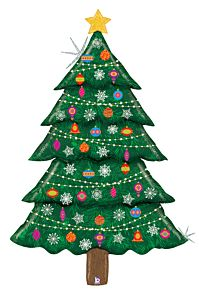 5' Christmas Tree Holographic