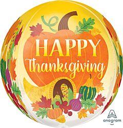 "16"" Thanksgiving Harvest Orbz"