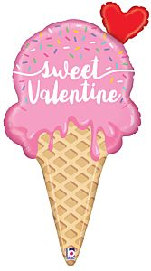 "35"" Sweet Valentine Ice Cream"