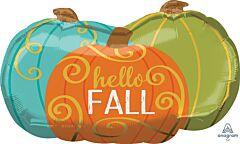 "29"" Hello Fall Pumpkins"